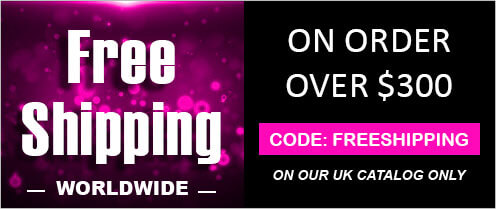 Promo: Get Free Shipping worldwide with $300 minimum spend on our UK catalog