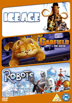 Robots Ice Age Garfield The Movie Dvd 2002 Original Dvd Planet Store
