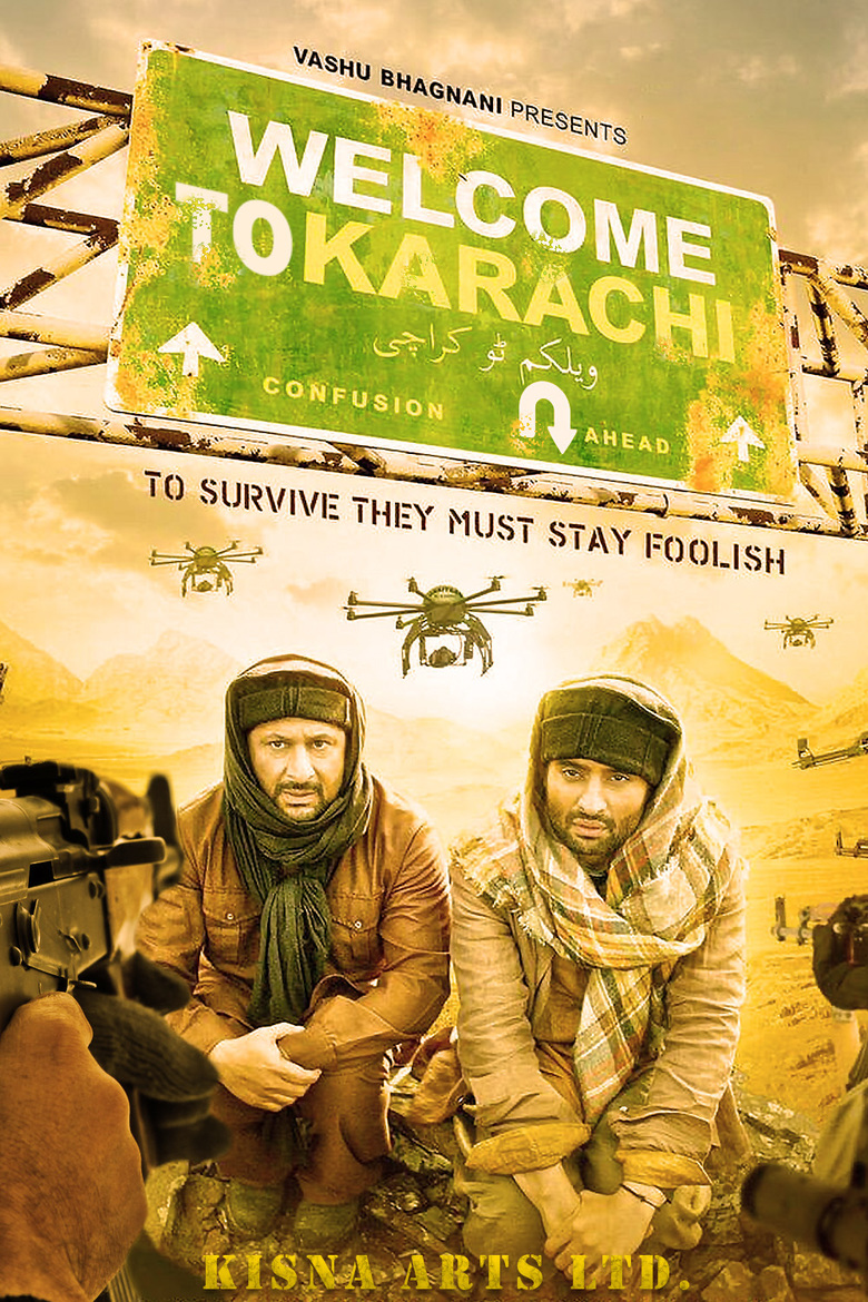 Welcome 2 Karachi (2015) - DVD PLANET STORE